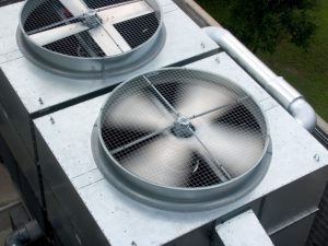 commercial-hvac-fans-in-rotation