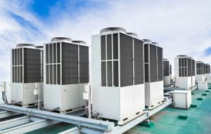 row-of-rooftop-ac-units